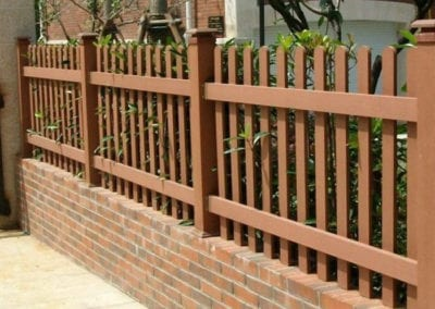 pvc composite fence 2 montreal