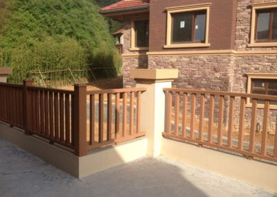 pvc composite fence montreal