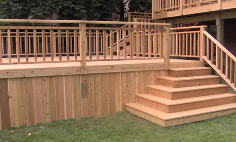 Wood Decking - Plastio Montreal - Composite Decking and